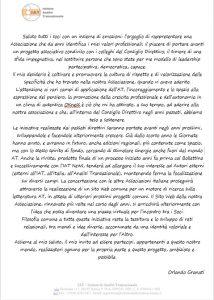 lettera Orlando